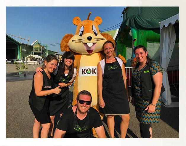 KOKI fête ses 40 ans et crée le KOKI Parc Ecureuil